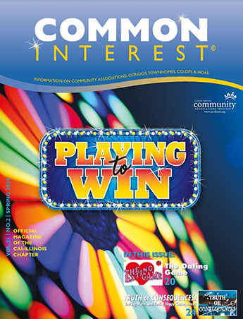 common interest Playing to Win magazine cover