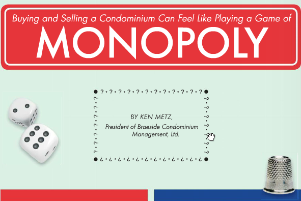 buying and selling condos monopoly game