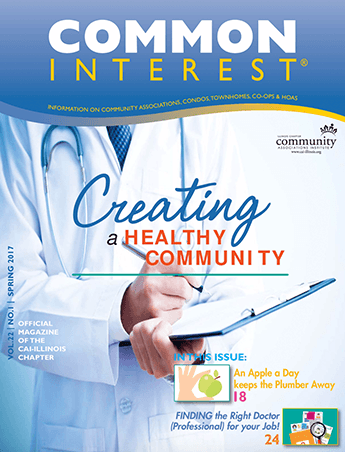 creating a healthy community magazine cover