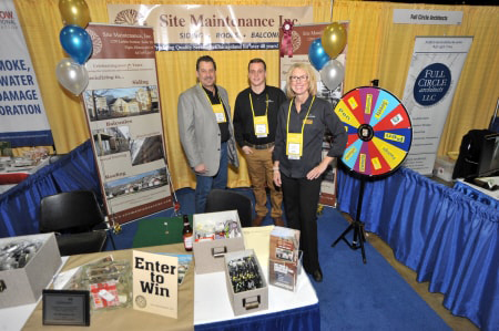 Site Maintenance booth at CAI expo