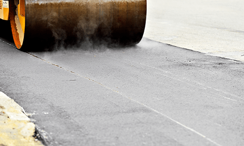 flattening the asphalt