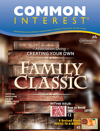 common interest family classic magazine cover