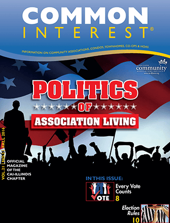 politics of association living magazine cover
