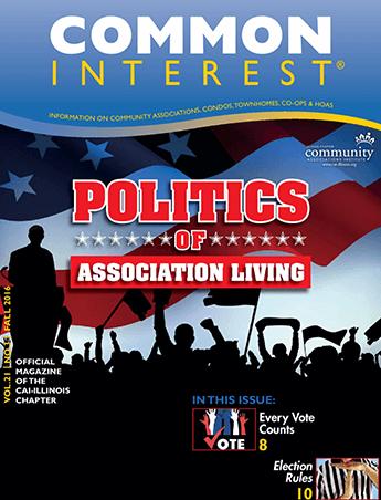 politics of association living magazine issue