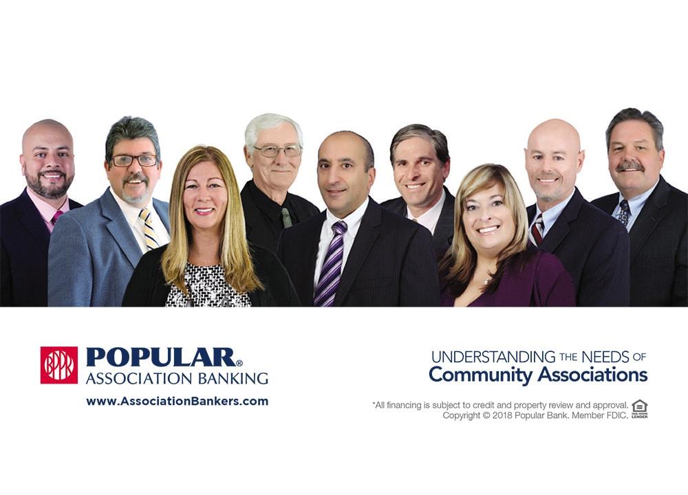 Popular Association Banking , banking flyer