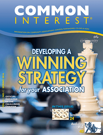 common interest developing winning strategy for your association magazine cover