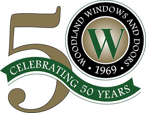 Woodland Windows & Doors branding