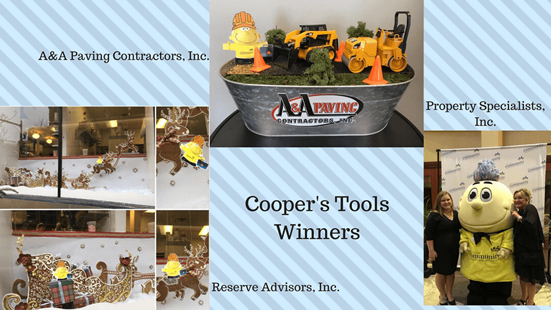 winners of cooper's tools promotion