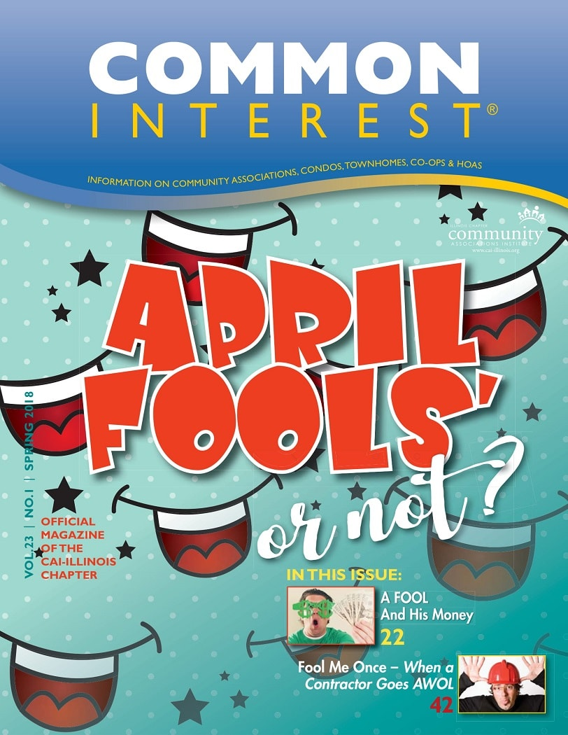 common interest april fools or not cover