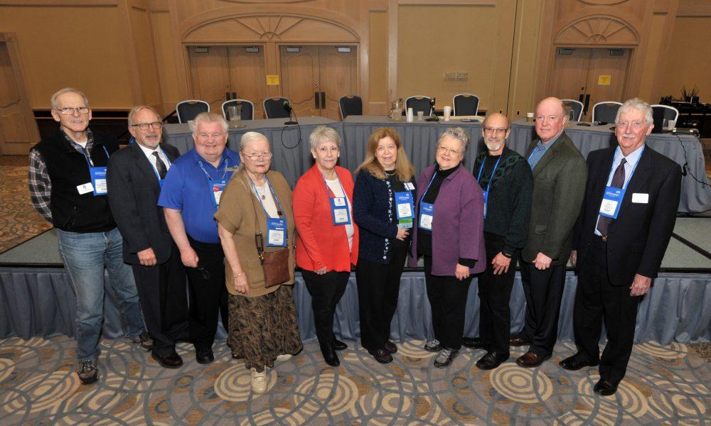 group of 2018 board members