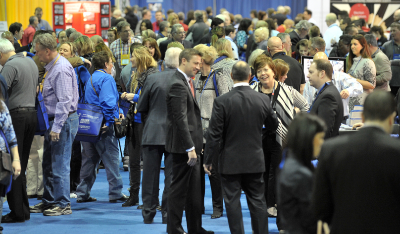 group of people at the CAI Conference & Expo