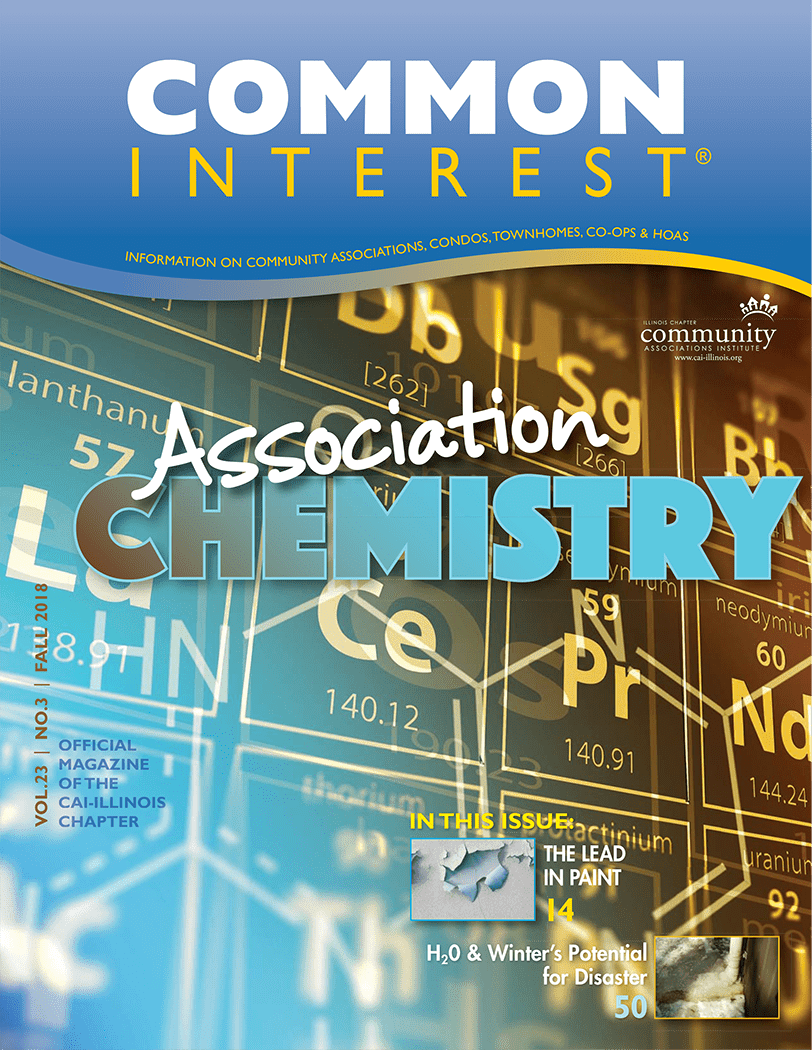 common interest association chemistry magazine cover