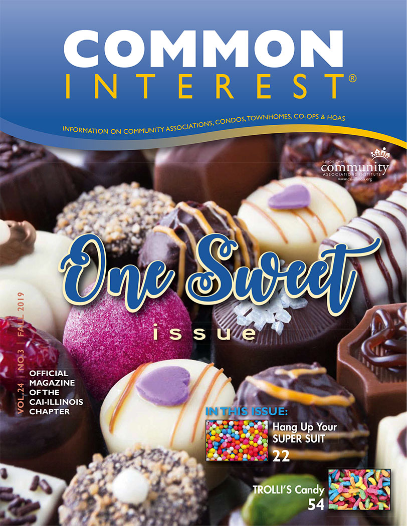 front cover page of common interest one sweet