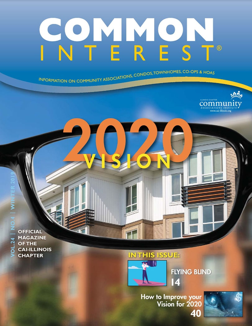cover of winter 2019 common interest magazine
