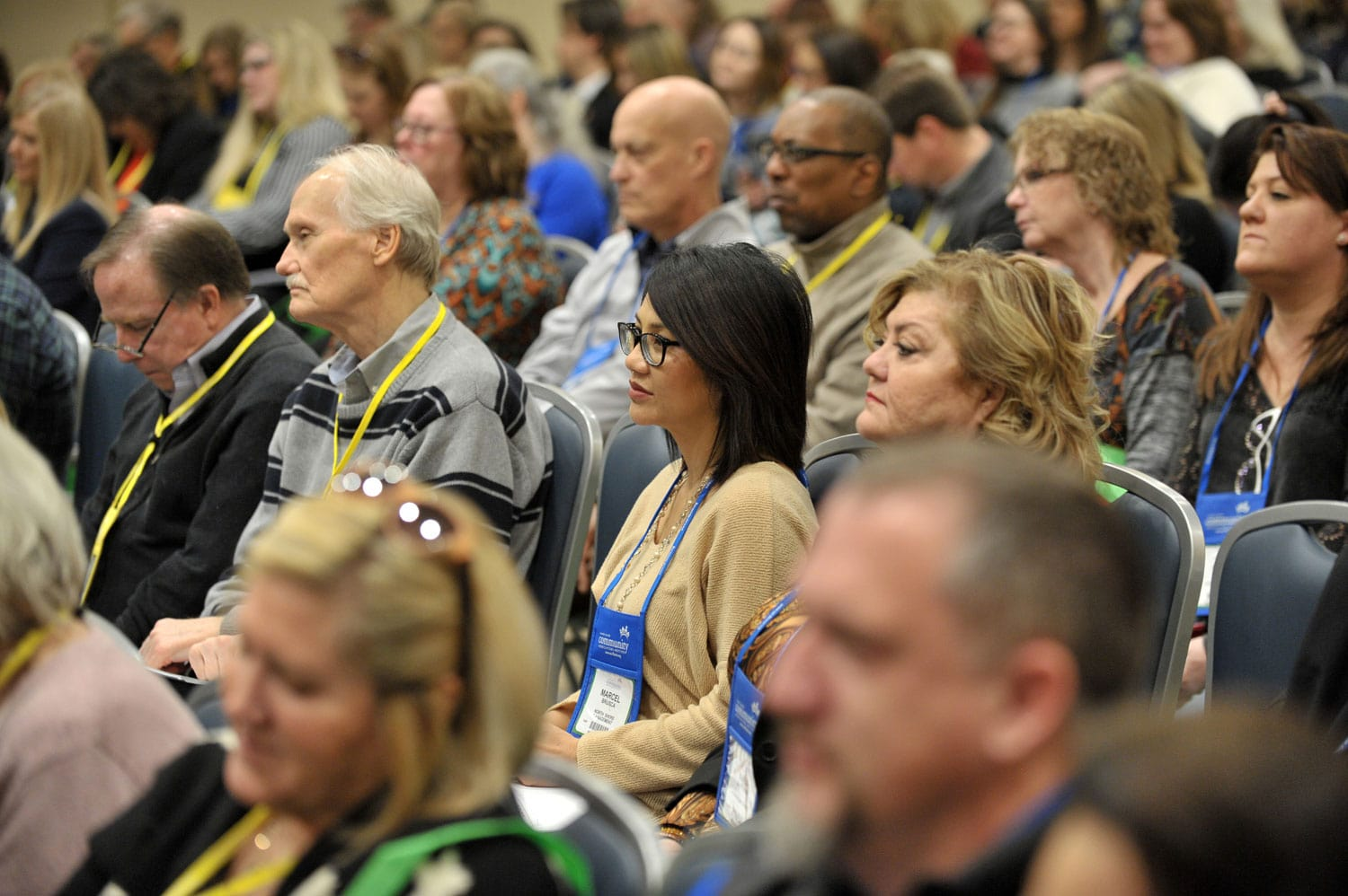attendees at cai 2020 conference and expo