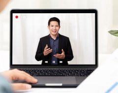 presenter at virtual conference