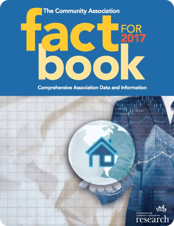 The Community Association Factbook for 2017 cover