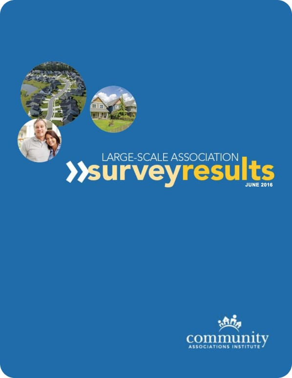 Large-Scale Association Survey Results cover